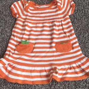 Super cute fall sweater dress